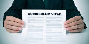 curriculum vitae plantilla